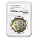 1879-CC Morgan Dollar MS-61 NGC (Capped CC, VAM 3 Top 100)