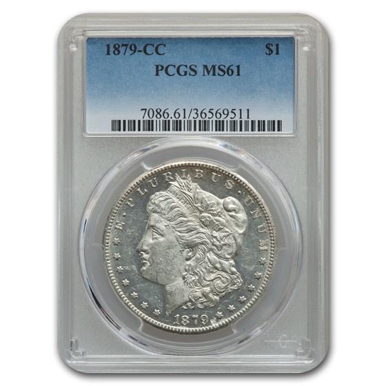 1879-CC Morgan Dollar MS-61 PCGS