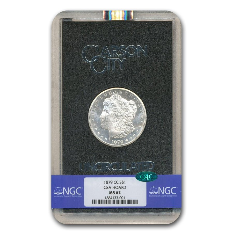 1879-CC Morgan Dollar MS-62 NGC CAC (GSA)