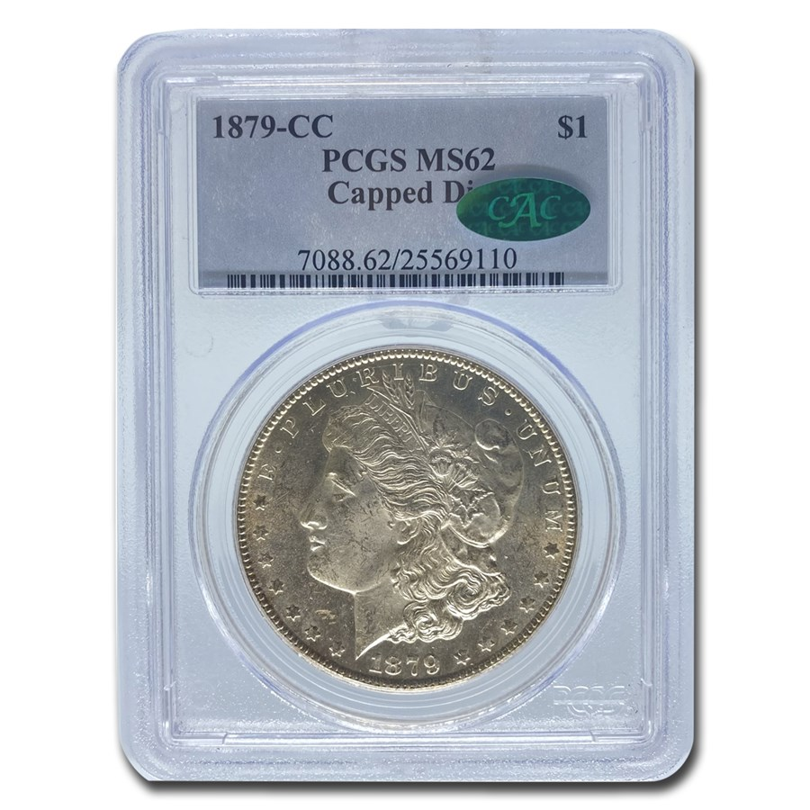1879-CC Morgan Dollar MS-62 PCGS CAC (Capped Die)