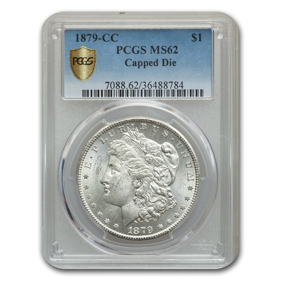 1879-CC Morgan Dollar MS-62 PCGS (Capped Die)