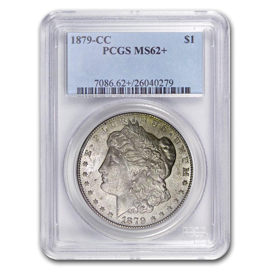 1879-CC Morgan Dollar MS-62+ PCGS (Clear CC)