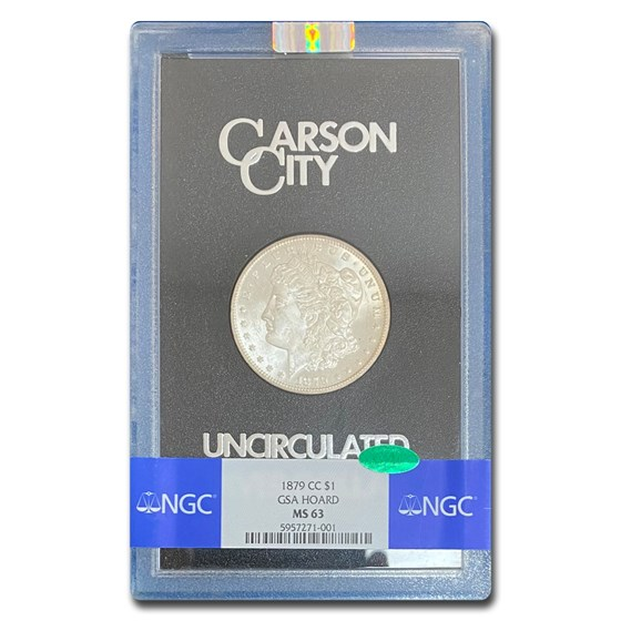 1879-CC Morgan Dollar MS-63 NGC CAC (GSA)