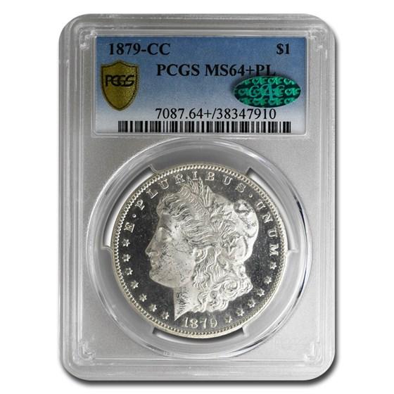 1879-CC Morgan Dollar PL MS-64+ PCGS CAC