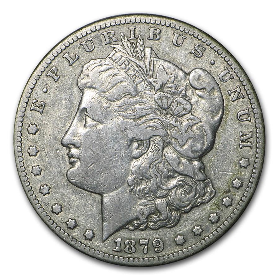 1879-CC Morgan Dollar VF