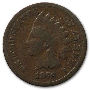 1879 Indian Head Cent Good