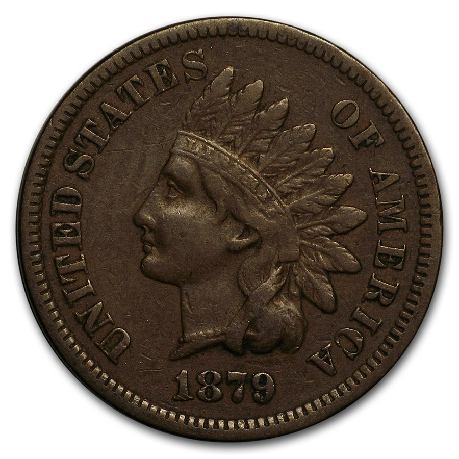 1879 Indian Head Cent VF