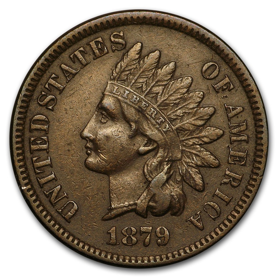 1879 Indian Head Cent XF