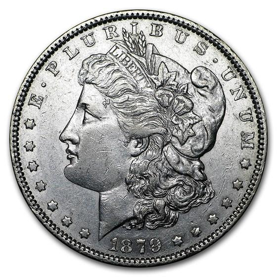1879 Morgan Dollar AU
