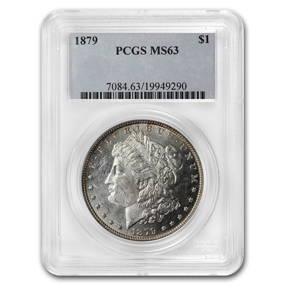 1879 Morgan Dollar MS-63 PCGS