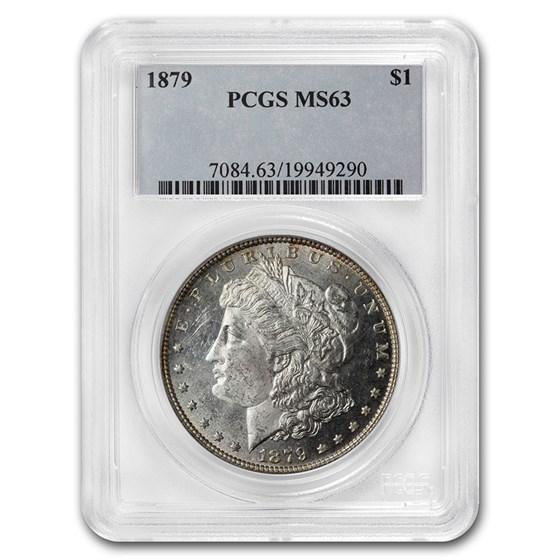 1879 Morgan Dollar MS-63 PCGS