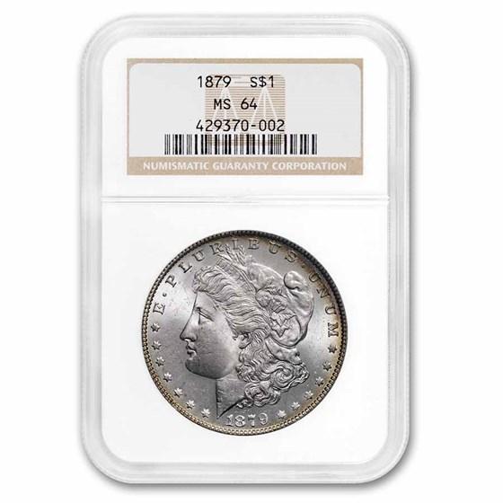 1879 Morgan Dollar MS-64 NGC