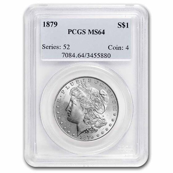 1879 Morgan Dollar MS-64 PCGS