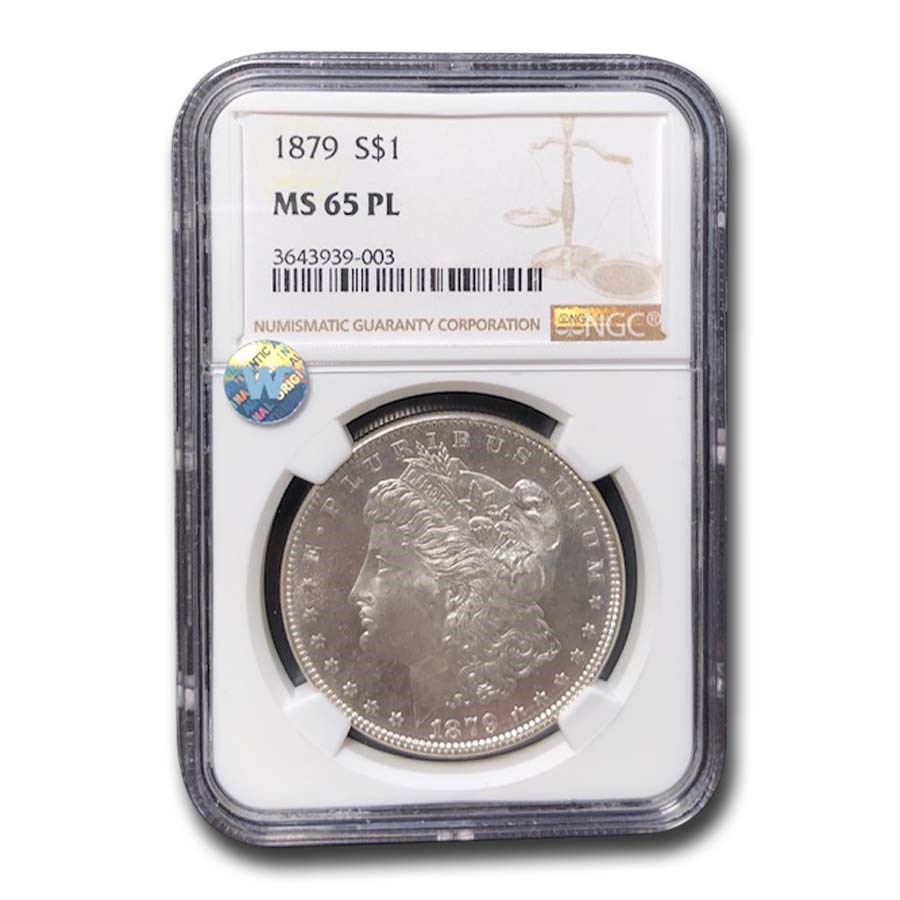 1879 Morgan Dollar MS-65 NGC (PL)