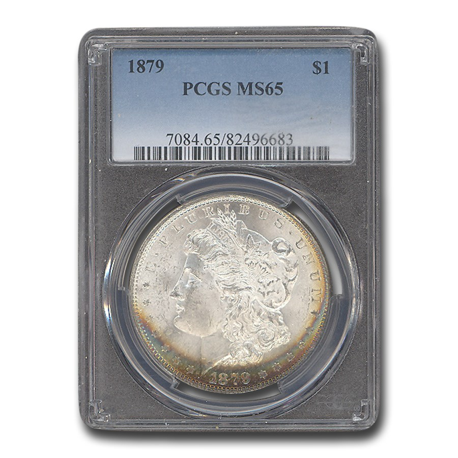 1879 Morgan Dollar MS-65 PCGS