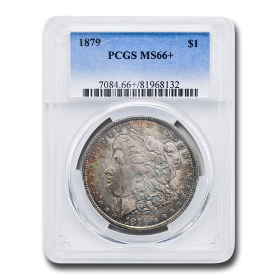 1879 Morgan Dollar MS-66+ PCGS