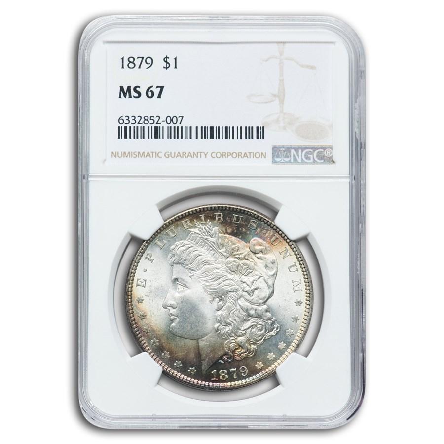 1879 Morgan Dollar MS-67 NGC