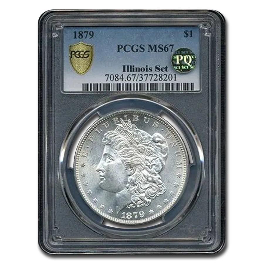 1879 Morgan Dollar MS-67 PCGS