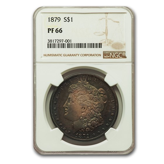 1879 Morgan Dollar PF-66 NGC