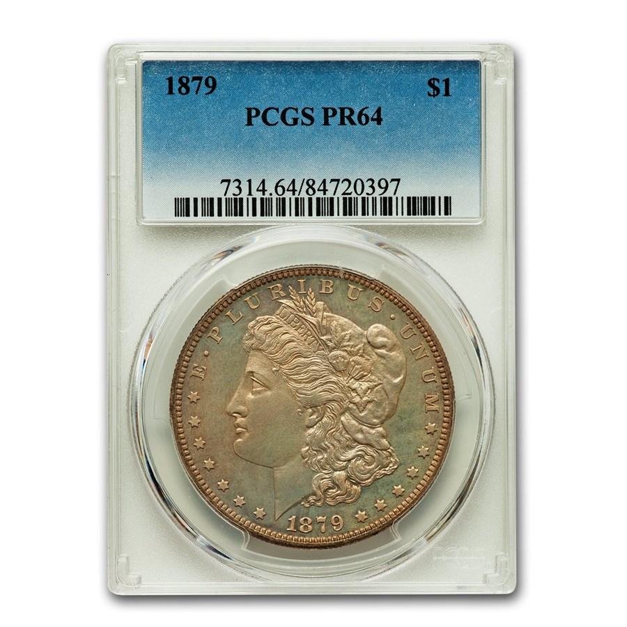 1879 Morgan Dollar PR-64 PCGS