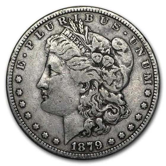 1879 Morgan Dollar VG/VF