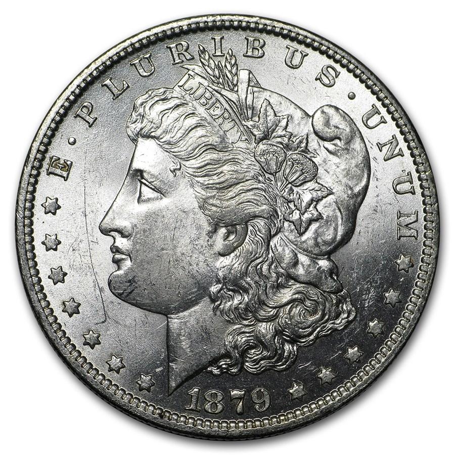 1879-O Morgan Dollar AU-58