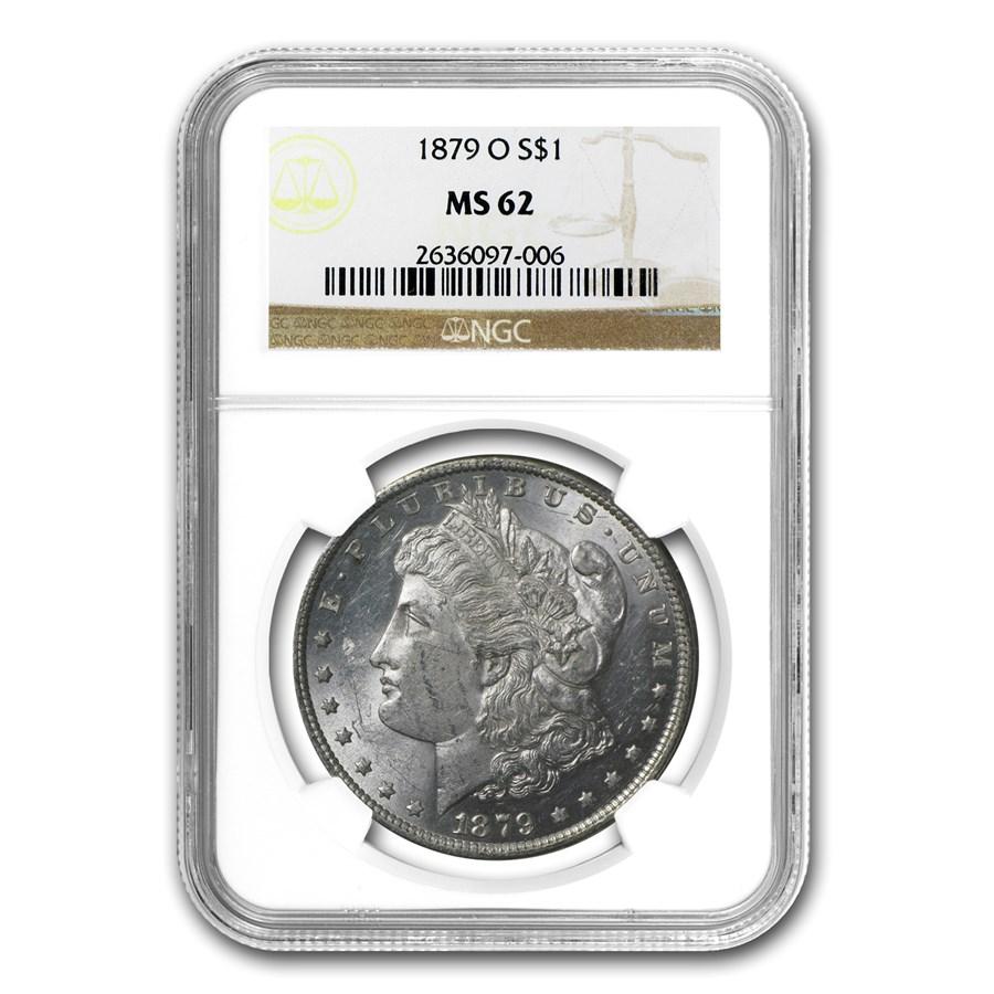 1879-O Morgan Dollar MS-62 NGC