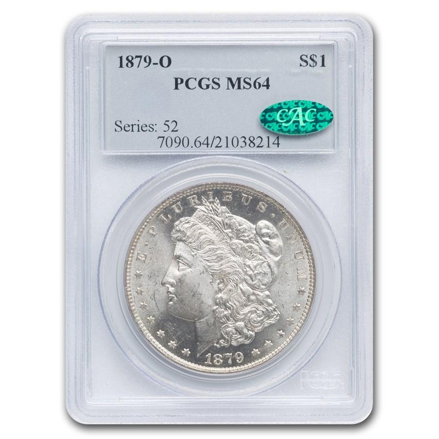 1879-O Morgan Dollar MS-64 PCGS CAC