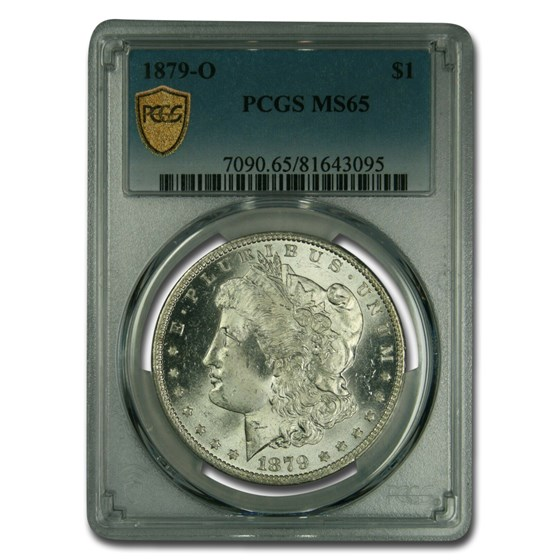 1879-O Morgan Dollar MS-65 PCGS