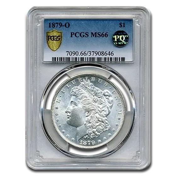 1879-O Morgan Dollar MS-66 PCGS