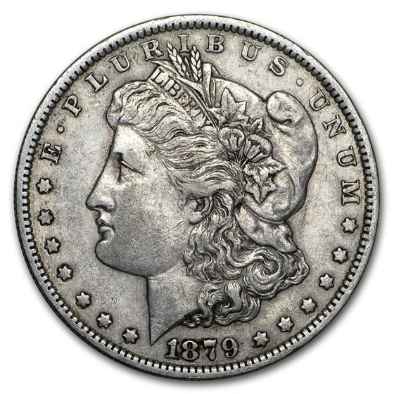 1879-O Morgan Dollar XF