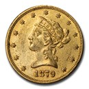 1879-S $10 Liberty Gold Eagle AU
