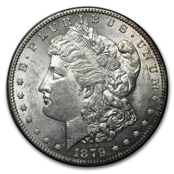 1879-S Morgan Dollar AU