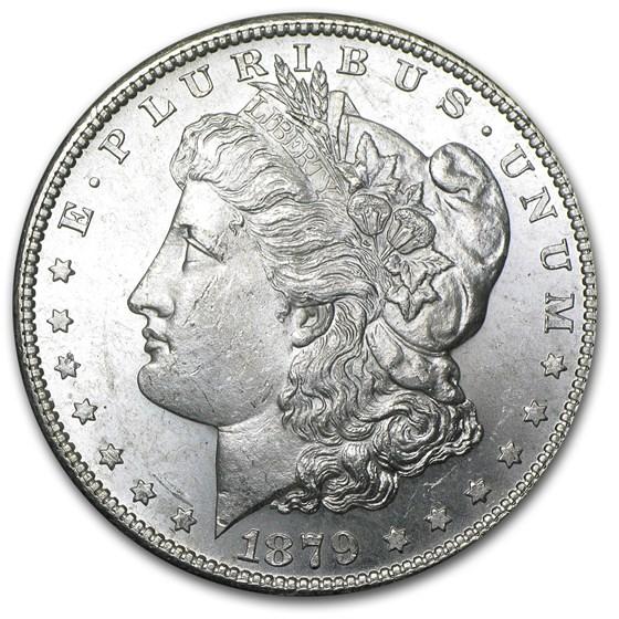 1879-S Morgan Dollar BU