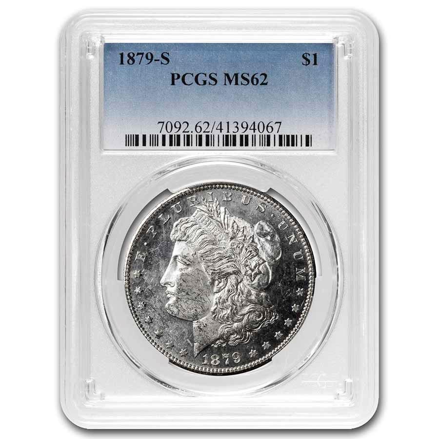 1879-S Morgan Dollar MS-62 PCGS