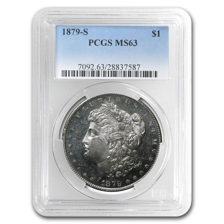 1879-S Morgan Dollar MS-63 PCGS