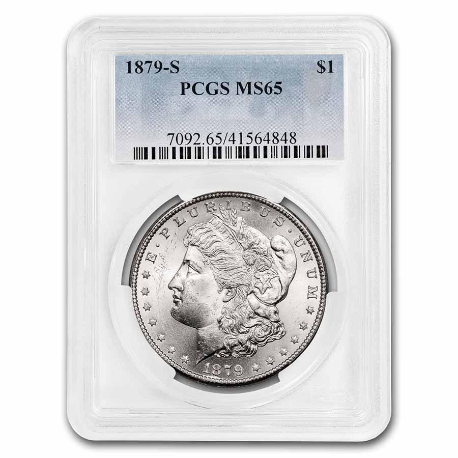 1879-S Morgan Dollar MS-65 PCGS