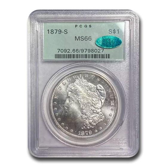 1879-S Morgan Dollar MS-66 PCGS CAC