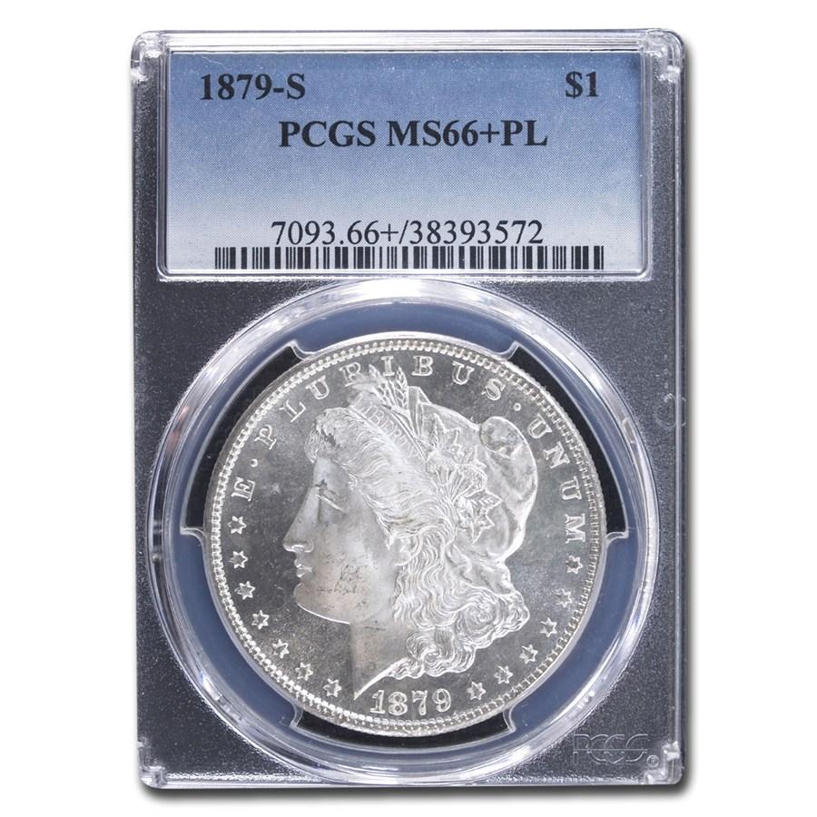 1879-S Morgan Dollar MS-66+ PCGS (PL)