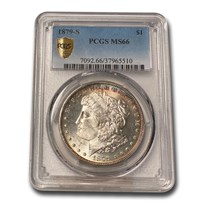 1879-S Morgan Dollar MS-66 PCGS