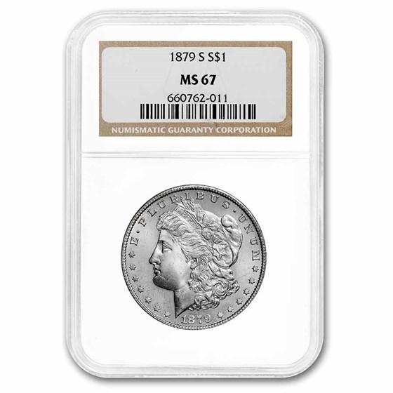 1879-S Morgan Dollar MS-67 NGC