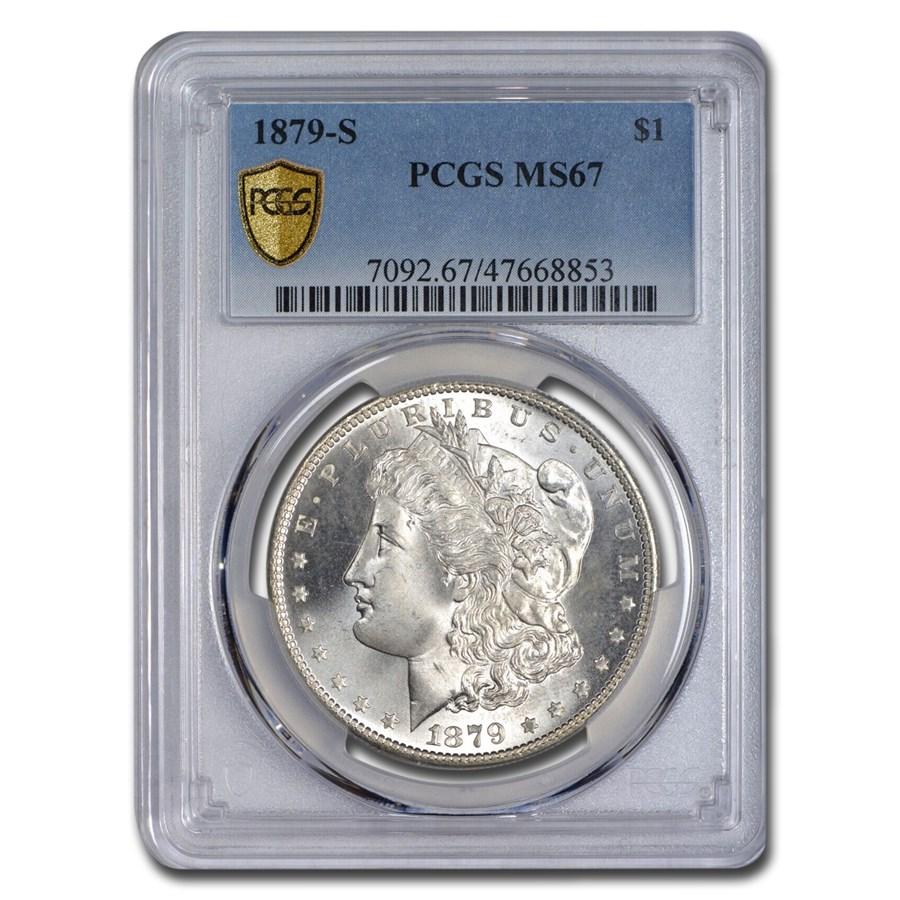 1879-S Morgan Dollar MS-67 PCGS