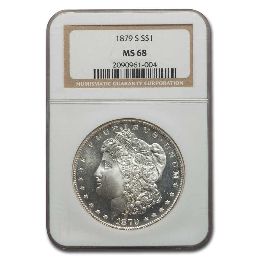 1879-S Morgan Dollar MS-68 NGC