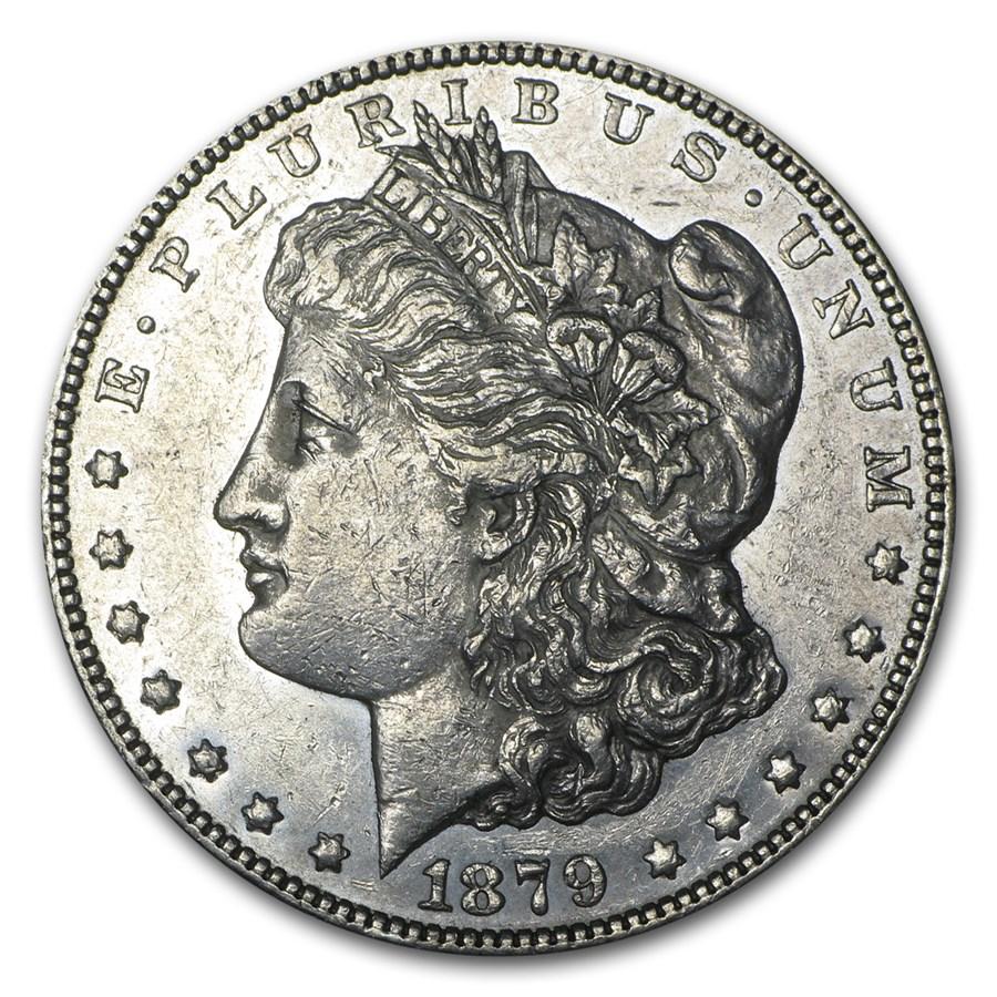 1879-S Morgan Dollar Rev of 78 AU