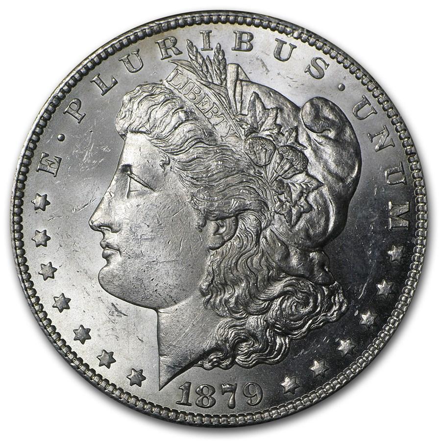 1879-S Morgan Dollar Rev of 78 BU