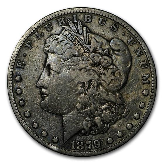 1879-S Morgan Dollar Rev of 78 VG/VF