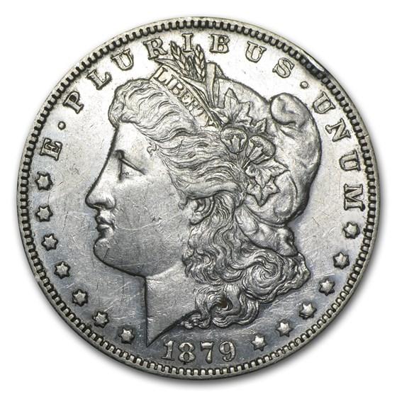 1879-S Morgan Dollar Rev of 78 XF