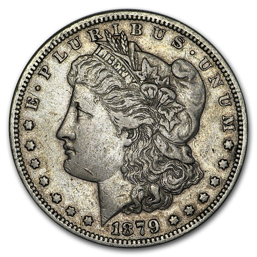 1879-S Morgan Dollar XF