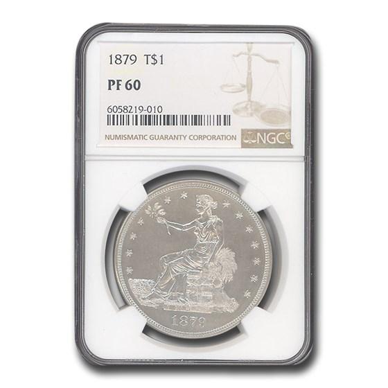 1879 Trade Dollar PF-60 NGC