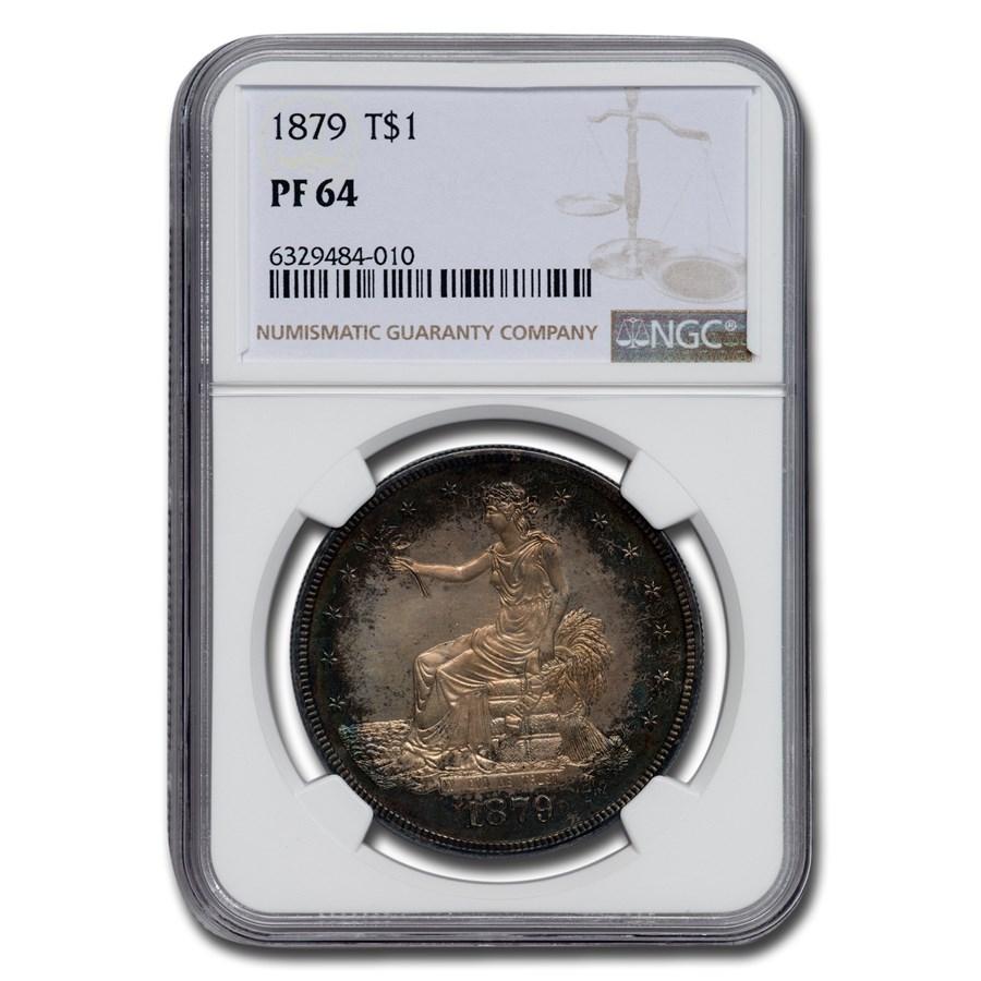 1879 Trade Dollar PF-64 NGC